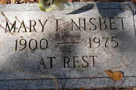 NISBET, MARY F. - Sarasota County, Florida | MARY F. NISBET - Florida Gravestone Photos