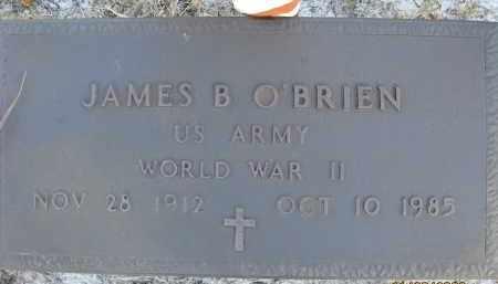 O'BRIEN (VETERAN WWII), JAMES B (NEW) - Sarasota County, Florida | JAMES B (NEW) O'BRIEN (VETERAN WWII) - Florida Gravestone Photos