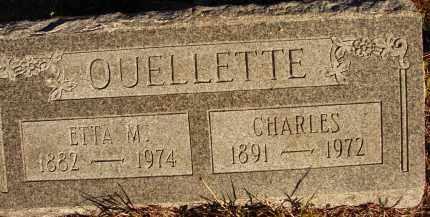 OUELLETTE, ETTA M. - Sarasota County, Florida   ETTA M. OUELLETTE - Florida Gravestone Photos