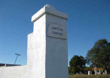 *LEMON BAY, OVERVIEW - Sarasota County, Florida | OVERVIEW *LEMON BAY - Florida Gravestone Photos