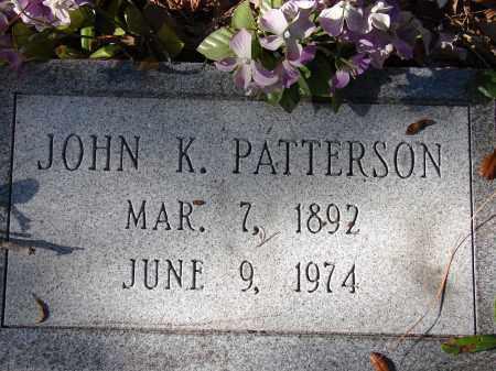 PATTERSON, JOHN K. - Sarasota County, Florida | JOHN K. PATTERSON - Florida Gravestone Photos
