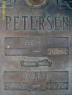 PETERSEN, HENRY - Sarasota County, Florida | HENRY PETERSEN - Florida Gravestone Photos