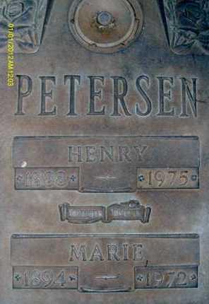 PETERSEN, MARIE - Sarasota County, Florida   MARIE PETERSEN - Florida Gravestone Photos