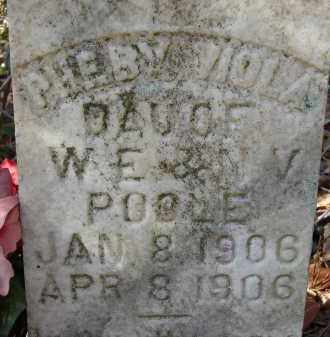 POOLE, PHEBY VIOLA - Sarasota County, Florida   PHEBY VIOLA POOLE - Florida Gravestone Photos