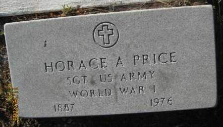 PRICE (VETERAN WWI), HORACE A (NEW) - Sarasota County, Florida | HORACE A (NEW) PRICE (VETERAN WWI) - Florida Gravestone Photos