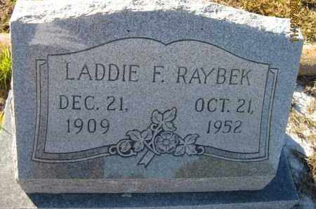 RAYBEK, LADDIE F - Sarasota County, Florida | LADDIE F RAYBEK - Florida Gravestone Photos