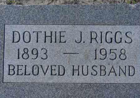 RIGGS, DOTHIE J. - Sarasota County, Florida | DOTHIE J. RIGGS - Florida Gravestone Photos