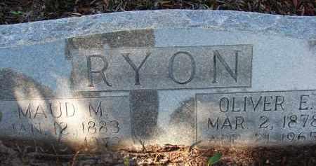 RYON, OLIVER E. - Sarasota County, Florida | OLIVER E. RYON - Florida Gravestone Photos
