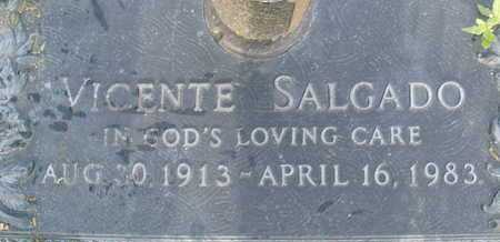 SALGADO, VINCENTE - Sarasota County, Florida   VINCENTE SALGADO - Florida Gravestone Photos