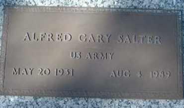 SALTER (VETERAN), ALFRED GARY - Sarasota County, Florida   ALFRED GARY SALTER (VETERAN) - Florida Gravestone Photos