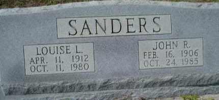 SANDERS, JOHN ROBERT - Sarasota County, Florida | JOHN ROBERT SANDERS - Florida Gravestone Photos