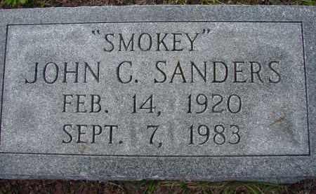 "SANDERS, JOHN C. ""SMOKEY"" - Sarasota County, Florida | JOHN C. ""SMOKEY"" SANDERS - Florida Gravestone Photos"