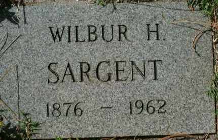 SARGENT, WILBUR H. - Sarasota County, Florida | WILBUR H. SARGENT - Florida Gravestone Photos