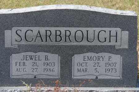 SCARBROUGH, EMORY P. - Sarasota County, Florida | EMORY P. SCARBROUGH - Florida Gravestone Photos