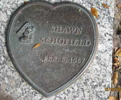 SCHOFIELD, SHAWN - Sarasota County, Florida | SHAWN SCHOFIELD - Florida Gravestone Photos