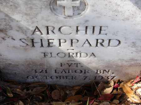 SHEPPARD (VETERAN), ARCHIE - Sarasota County, Florida | ARCHIE SHEPPARD (VETERAN) - Florida Gravestone Photos