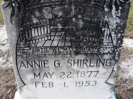 SHIRLING, ANNIE GERTRUDE - Sarasota County, Florida | ANNIE GERTRUDE SHIRLING - Florida Gravestone Photos