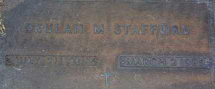 STAFFORD, BEULAH M. - Sarasota County, Florida | BEULAH M. STAFFORD - Florida Gravestone Photos