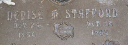STAFFORD, DENISE M. - Sarasota County, Florida | DENISE M. STAFFORD - Florida Gravestone Photos