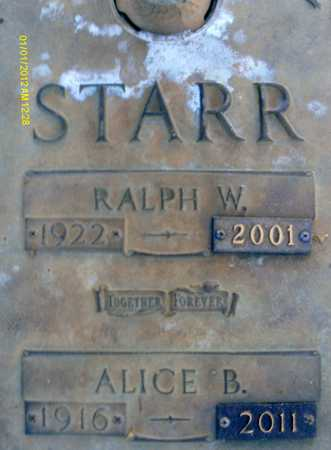 STARR, ALICE B. - Sarasota County, Florida   ALICE B. STARR - Florida Gravestone Photos