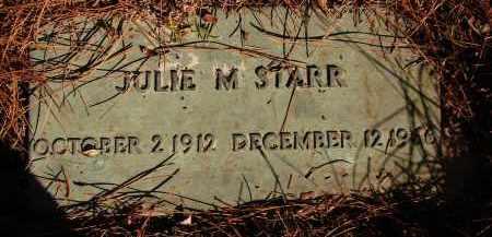 STARR, JULIE M. - Sarasota County, Florida   JULIE M. STARR - Florida Gravestone Photos