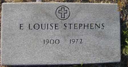 STEPHENS, E LOUISE - Sarasota County, Florida | E LOUISE STEPHENS - Florida Gravestone Photos