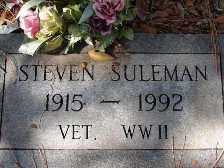 SULEMAN (VETERAN WWII), STEVEN - Sarasota County, Florida   STEVEN SULEMAN (VETERAN WWII) - Florida Gravestone Photos