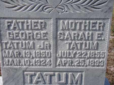 WINGATE TATUM, SARAH ELIZABETH - Sarasota County, Florida | SARAH ELIZABETH WINGATE TATUM - Florida Gravestone Photos