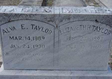 TAYLOR, ALVA E. - Sarasota County, Florida | ALVA E. TAYLOR - Florida Gravestone Photos