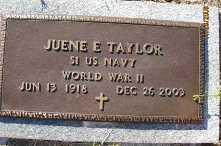 TAYLOR (VETERAN WWII), JUENE E (NEW) - Sarasota County, Florida   JUENE E (NEW) TAYLOR (VETERAN WWII) - Florida Gravestone Photos