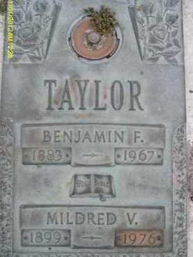 TAYLOR, MILDRED V. - Sarasota County, Florida | MILDRED V. TAYLOR - Florida Gravestone Photos