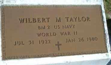 TAYLOR (VETERAN WWII), WILBERT M. - Sarasota County, Florida | WILBERT M. TAYLOR (VETERAN WWII) - Florida Gravestone Photos