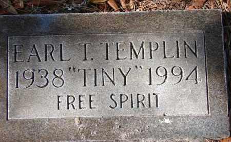 "TEMPLIN, EARL THOMAS ""TINY"" - Sarasota County, Florida   EARL THOMAS ""TINY"" TEMPLIN - Florida Gravestone Photos"