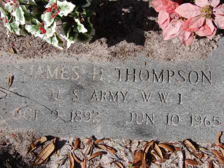 THOMPSON (VETERAN WWI), JAMES H. - Sarasota County, Florida | JAMES H. THOMPSON (VETERAN WWI) - Florida Gravestone Photos