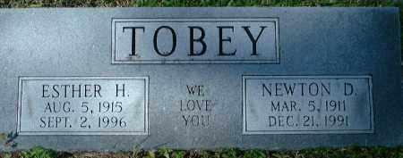 TOBEY, ESTHER H. - Sarasota County, Florida | ESTHER H. TOBEY - Florida Gravestone Photos