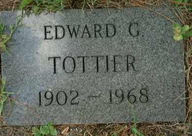 TOTTIER, EDWARD G. - Sarasota County, Florida | EDWARD G. TOTTIER - Florida Gravestone Photos