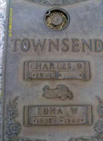 TOWNSEND, EDNA  W. - Sarasota County, Florida | EDNA  W. TOWNSEND - Florida Gravestone Photos
