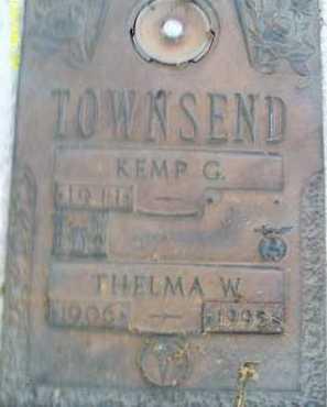TOWNSEND, KEMP G. - Sarasota County, Florida   KEMP G. TOWNSEND - Florida Gravestone Photos