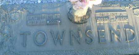 TOWNSEND, PAULINE A. - Sarasota County, Florida   PAULINE A. TOWNSEND - Florida Gravestone Photos