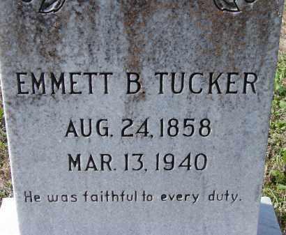 TUCKER, EMMETT BARRY - Sarasota County, Florida | EMMETT BARRY TUCKER - Florida Gravestone Photos