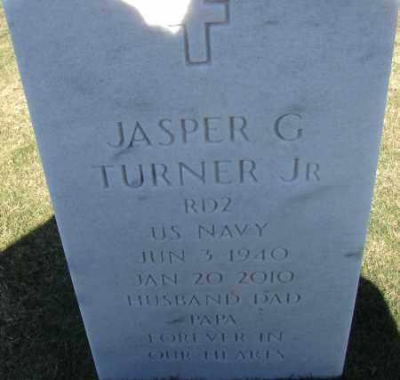 TURNER, JR (VETERAN), JASPER GORDEN - Sarasota County, Florida   JASPER GORDEN TURNER, JR (VETERAN) - Florida Gravestone Photos