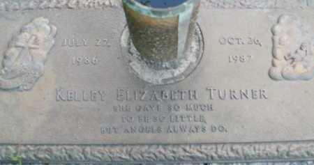 TURNER, KELLEY ELIZABETH - Sarasota County, Florida | KELLEY ELIZABETH TURNER - Florida Gravestone Photos