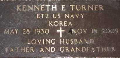 TURNER, KENNETH E. - Sarasota County, Florida | KENNETH E. TURNER - Florida Gravestone Photos