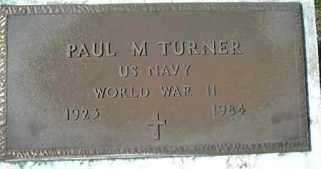 TURNER (VETERAN WWII), PAUL M. - Sarasota County, Florida   PAUL M. TURNER (VETERAN WWII) - Florida Gravestone Photos