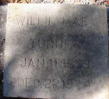 TURNER, WILLIE MAE - Sarasota County, Florida | WILLIE MAE TURNER - Florida Gravestone Photos