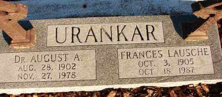 URANKAR, DR. AUGUST A. - Sarasota County, Florida | DR. AUGUST A. URANKAR - Florida Gravestone Photos