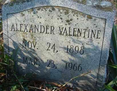 VALENTINE, ALEXANDER - Sarasota County, Florida   ALEXANDER VALENTINE - Florida Gravestone Photos