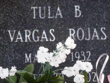 VARGAS ROJAS, TULA B. - Sarasota County, Florida | TULA B. VARGAS ROJAS - Florida Gravestone Photos
