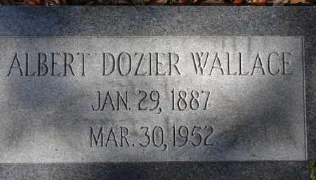 WALLACE, ALBERT DOZIER - Sarasota County, Florida | ALBERT DOZIER WALLACE - Florida Gravestone Photos