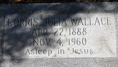 WALLACE, CORRIS JULIA - Sarasota County, Florida | CORRIS JULIA WALLACE - Florida Gravestone Photos